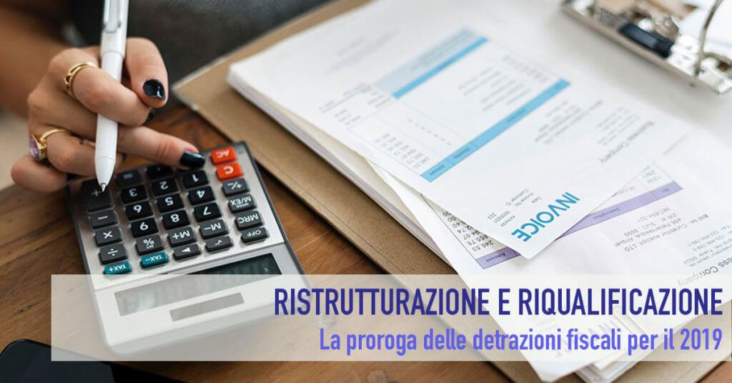 Proroghe alle detrazioni fiscali per le ristrutturazioni